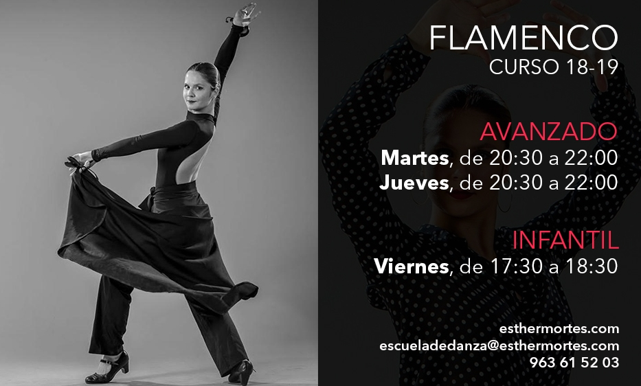 Esther Mortes Flamenco Avanzado e Infantil 18-19
