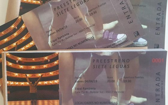 Entradas Siete Leguas Documental