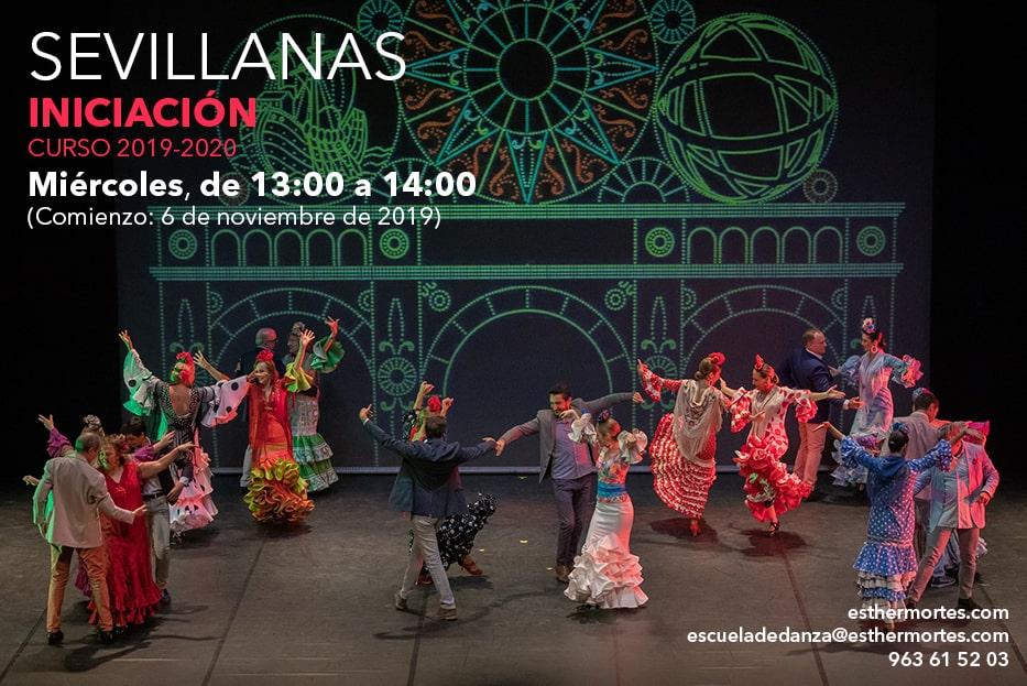 Sevillanas Iniciación. ¡Otro nuevo grupo para el curso 2019-2020!