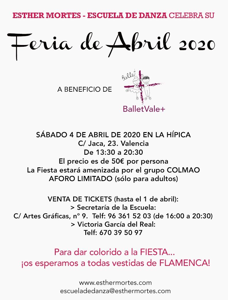 Feria de Abril 2020 de Esther Mortes - Escuela de Danza