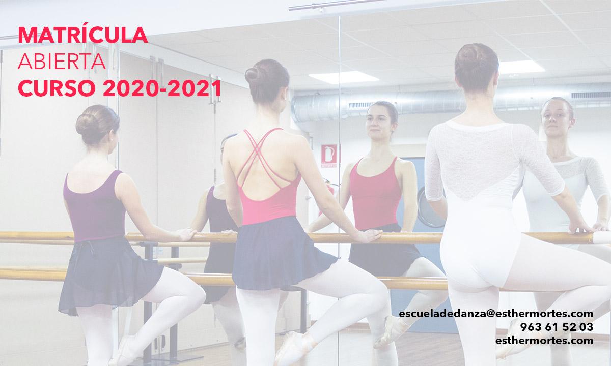 ¡Matrícula para el curso 2020-2021! - Esther Mortes Escuela de Danza