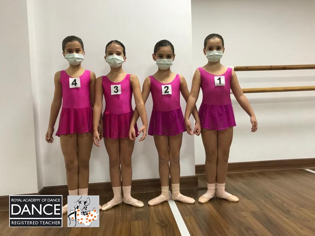 ¡Excelentes resultados en los exámenes de la Royal Academy of Dance!